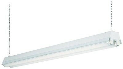 Lithonia Lighting 2-Light White T8 Fluorescent Residential Shop Light Technology