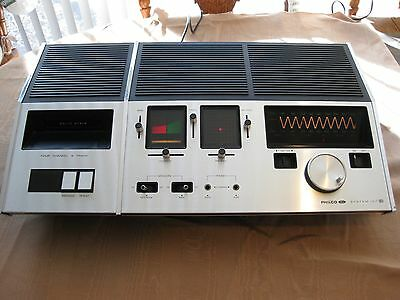 PHILCO Ford SYSTEM IV SQ 4 Channel 8Track Quad Amplifier AM/FM Receiver   RARE!!