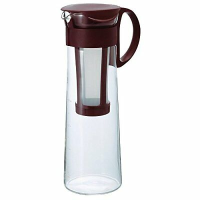 New HARIO Cold Brew Ice Coffee Glass Pot 1000ml MCPN-14CBR From Japan