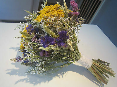 Bridal Bouquet. Beautiful Dried Flowers. Made to order, Country, Vintage Wedding