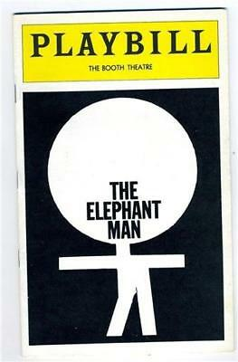The Elephant Man Playbill Kevin Conway Carole Shelley Philip Anglim