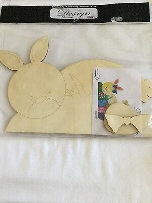 Wooden Rabbit To Decorate