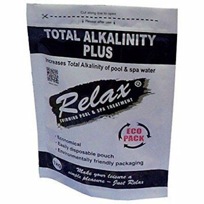 Relax TA Total Alkalinity Plus Swimming Pool Spa Increaser Raise Up Treatment