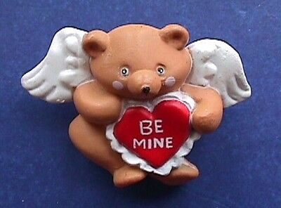 BUY1&GET1@50%~Easter Unlimited PIN Valentines BEAR ANGEL Be Mine HEART Vtg