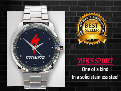 Limited Edition Hot Item SPECIALIZED BICYCLE RACING Logo Sport Metal Watch