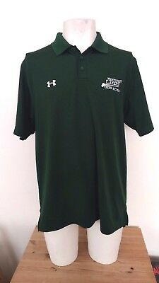 Mercyhurst University Lakers Soccer Green Polo Shirt size LG/G/G (2XL)