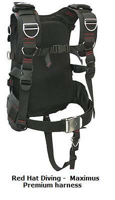 Red Hat Diving. Maximus Premium harness.  New. wing