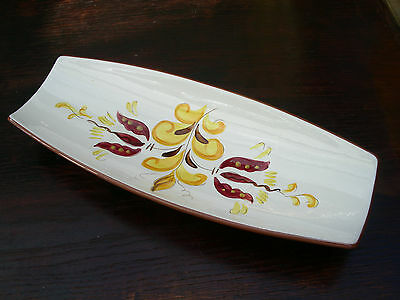 """Stangl Provincial Large Console Bowl; 15¼"""" Long"""
