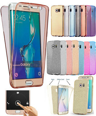 Full Body Silicone Shockproof Glitter Case Cover For Samsung Galaxy J5 2017