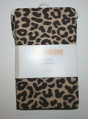 New Gymboree Outlet Tan Brown Leopard Animal Print Tights NWT 2 3  5 6 7 8 10 12
