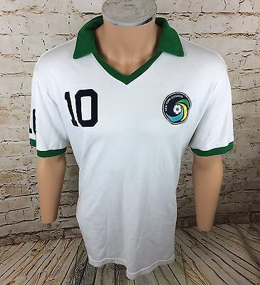 New York Cosmos Football Shirt #10 Pele Umbro Hipster Wear Sz 2XL / XXL Mens