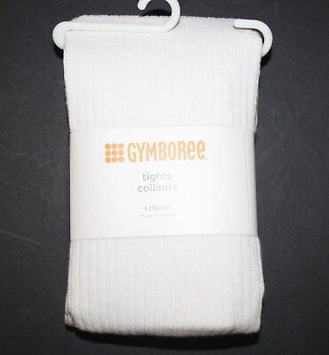 New Gymboree Outlet Basic Ivory Knit Tights NWT Size XS 4 M 7 8 L 10 12 Year