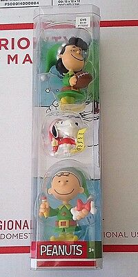 Peanuts Christmas Elf Figures Just Play