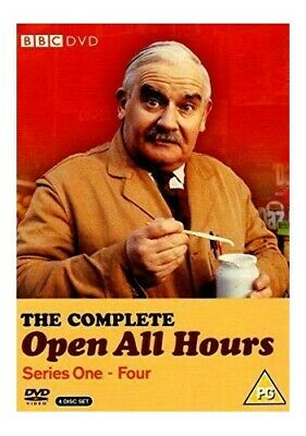 Open All Hours - Complete Series 1-4 Box Set [DVD] - DVD  6ZVG The Cheap Fast