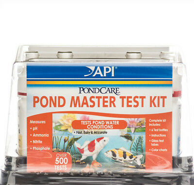 *API* POND MASTER TEST KIT ,EASY AND accurate way to test pond water quality