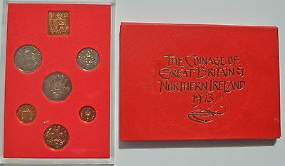 Elizabeth II 1973 Proof Set (6 Coins)       J2B