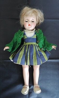 "1950's Ideal P-90 Toni doll 14"" Blond hair"