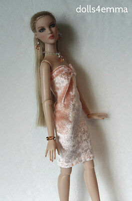 Tonner CAMI & Antoinette size clothes Handmade DRESS and JEWELRY Fashion NO DOLL