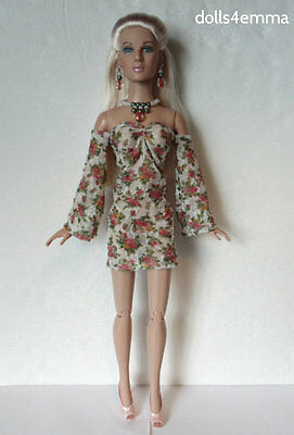 Sweet Dress and Jewelry Handmade for Tonner 16in TYLER and friends NO DOLL d4e