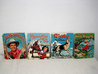 Vintage 1950's Lot of 4 Whitman Tell-a-Tales Books Collectible-FAST SHIPPING!!