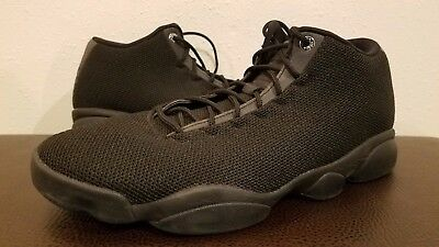 4c252a7a5b5 Nike Air Jordan Horizon Low Men s Basketball Shoes Black 845098 010 SZ 14