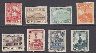 MEXICO STAMPS SC# 634-641 Mint NH.vf.(640 U.) set cat val.$73.00