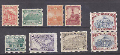 MEXICO STAMPS SC# 642-649a Mint NH.vf.(644-45LH.) set cat val.$41.10