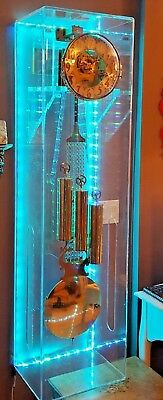 Limited Edition Lucite Grandfather Clock with LED Special Effects