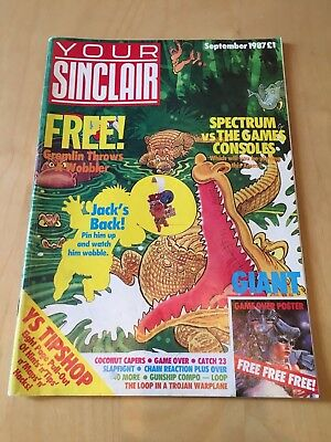 Your Sinclair ZX Spectrum magazine - number 21 - September 1987