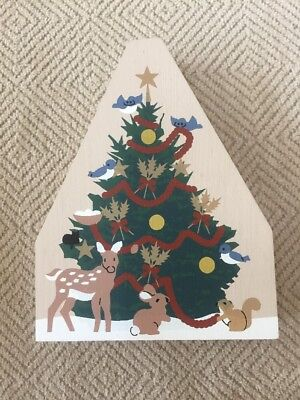 Cat's Meow Christmas Pine Tree, Woodland Animals Decorating Trimming