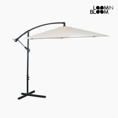 Parasol Ø 300 cm Beige by Loom In Bloom