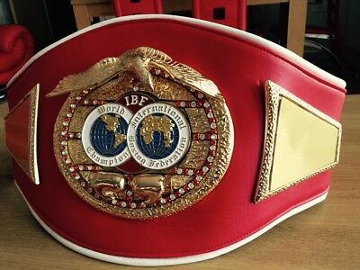 IBF Intercontinental Championship Boxing Belt- most accurate replica-Custom Made
