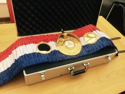 Old Style WBA Super Champion Boxing Belt- most accurate replica -Custom Made