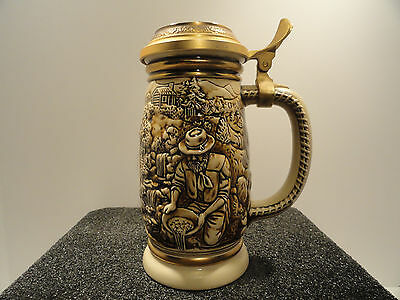 The Gold Rush Beer Stein Avon 1987