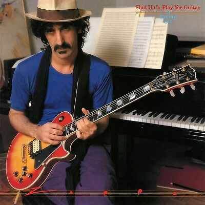 Frank Zappa Shut Up And Play Yer Guitar 12x12 Borderless Album Art Print Replica