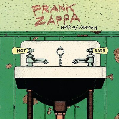 Frank Zappa Waka Jawaka 12x12 Borderless Album Art Print Replica