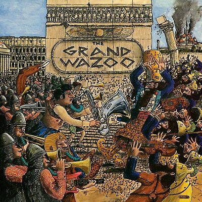 Frank Zappa The Grand Wazoo 12x12 Borderless Album Art Print Replica