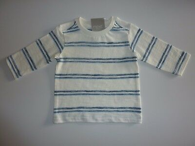 NEXT Gorgeous Blue Striped Long Sleeve Top NWT