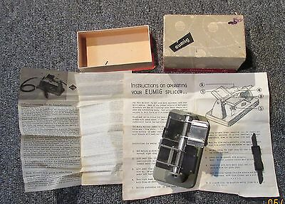 eumig Film Splicer  made in Germany in box with instructions