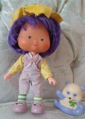 Vintage Strawberry Shortcake doll Almond Tea and Marza Panda