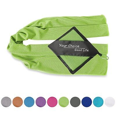 Cooling Towel for Instant Relief- Cool Sports Towel for Fitness Yoga Golf... New