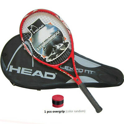 Head Carbon Tennis Racquet YD66 Racket Delivery with Bag Grip Cover Size 4 1/4