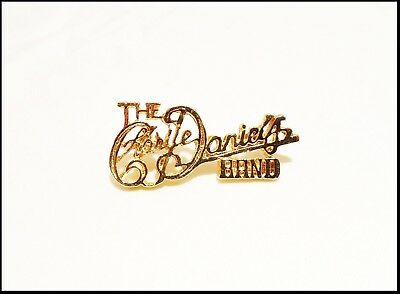 The Charlie Daniels Band Vintage 70's Pin Pinback