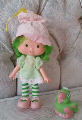 Vintage Strawberry Shortcake doll Lime Chiffon and Parfait
