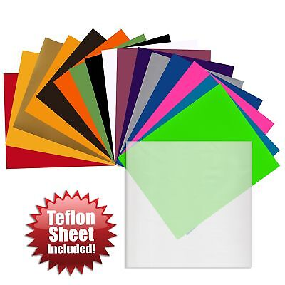 Angel Crafts 30.5cm x 25cm SISER Easyweed Heat Transfer Vinyl Sheets (16 ... New