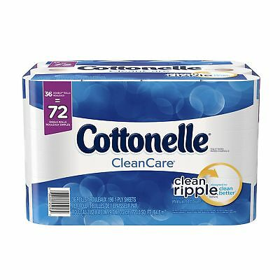 Cottonelle Clean Care Double Roll Bath Tissue 36 Count New