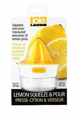 Harold Import Company Joie Citrus Squeeze and Pour Juicer Reamer with 10 ... New