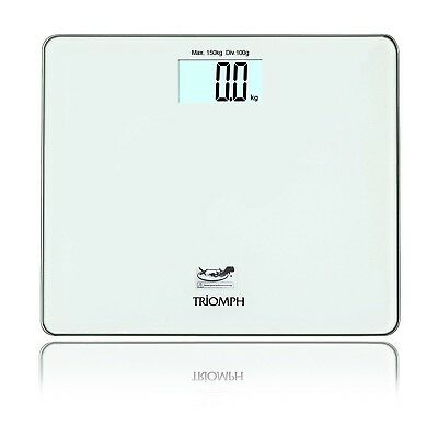 Triomph Precision Digital Body Weight Bathroom Scale with Step on Technol... New