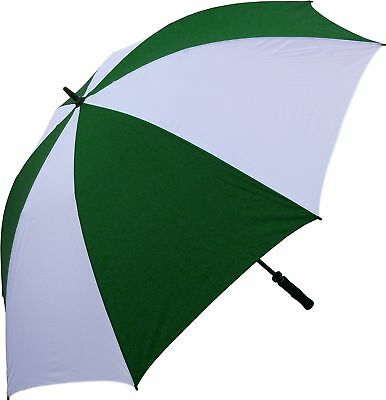 RainStoppers W028DGW Oversize Windproof Golf Umbrella 68-Inch (Green/White) New