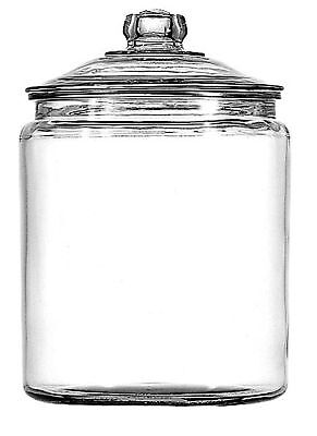 Anchor Hocking 77901 Heritage Hill Canister 1-Gallon Clear pack of 1 New